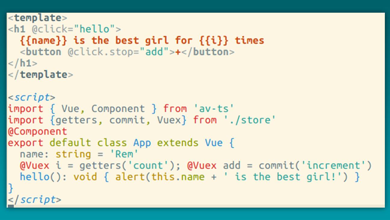 Writing Vue 2 0 in TypeScript 2 0 - Vue js Feed