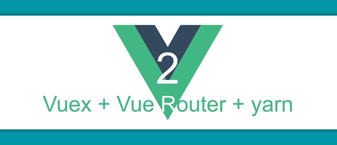 A basic configuration example using Vue js 2, Vuex, Vue
