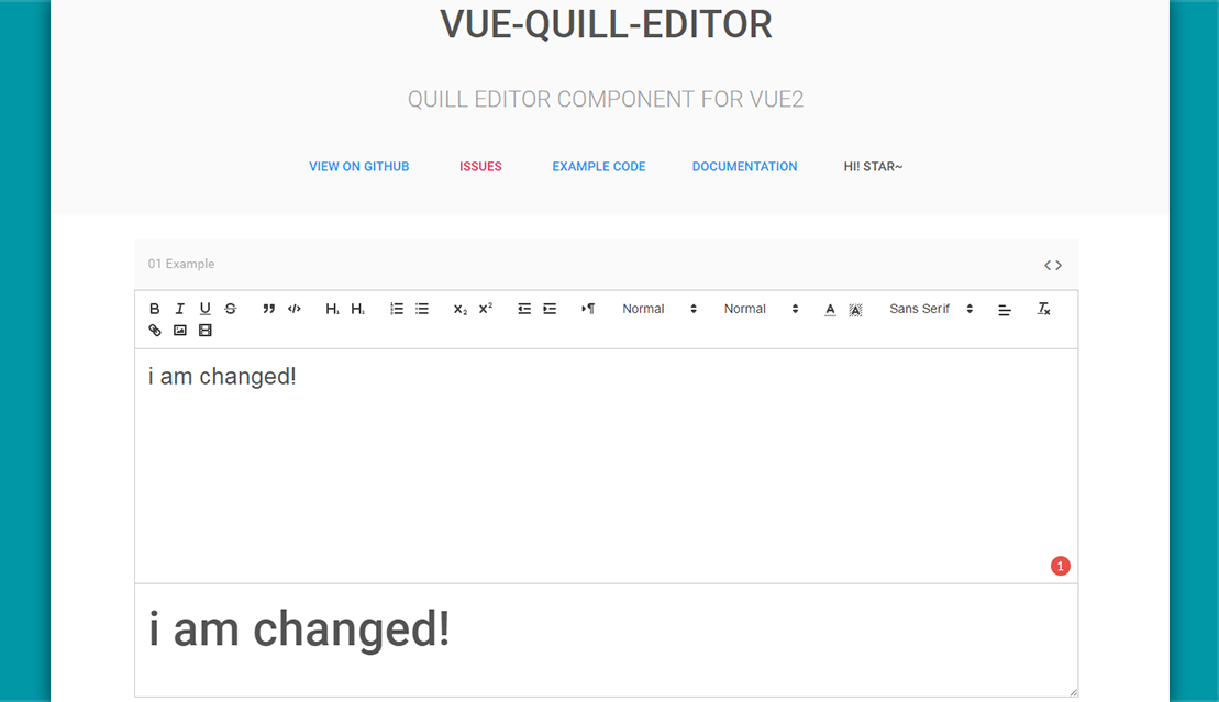Intergrate Quill editor in Vue js 2 projects - Vue js Feed