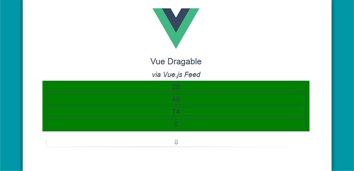 Drag and Drop elements with Vue Draggable - Vue js Feed