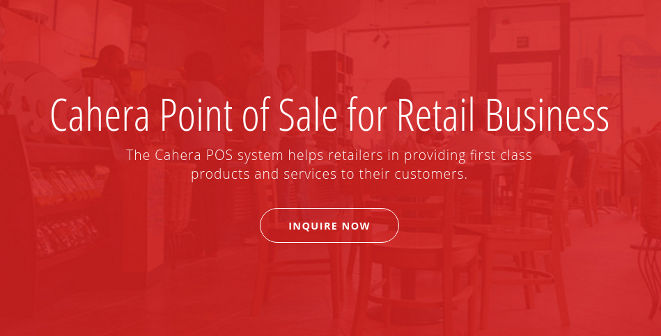 Cahera: Point of Sale solution, built with Vue js and