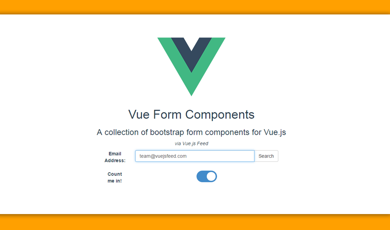 Vue form components create forms based on the bootstrap css blog image falaconquin