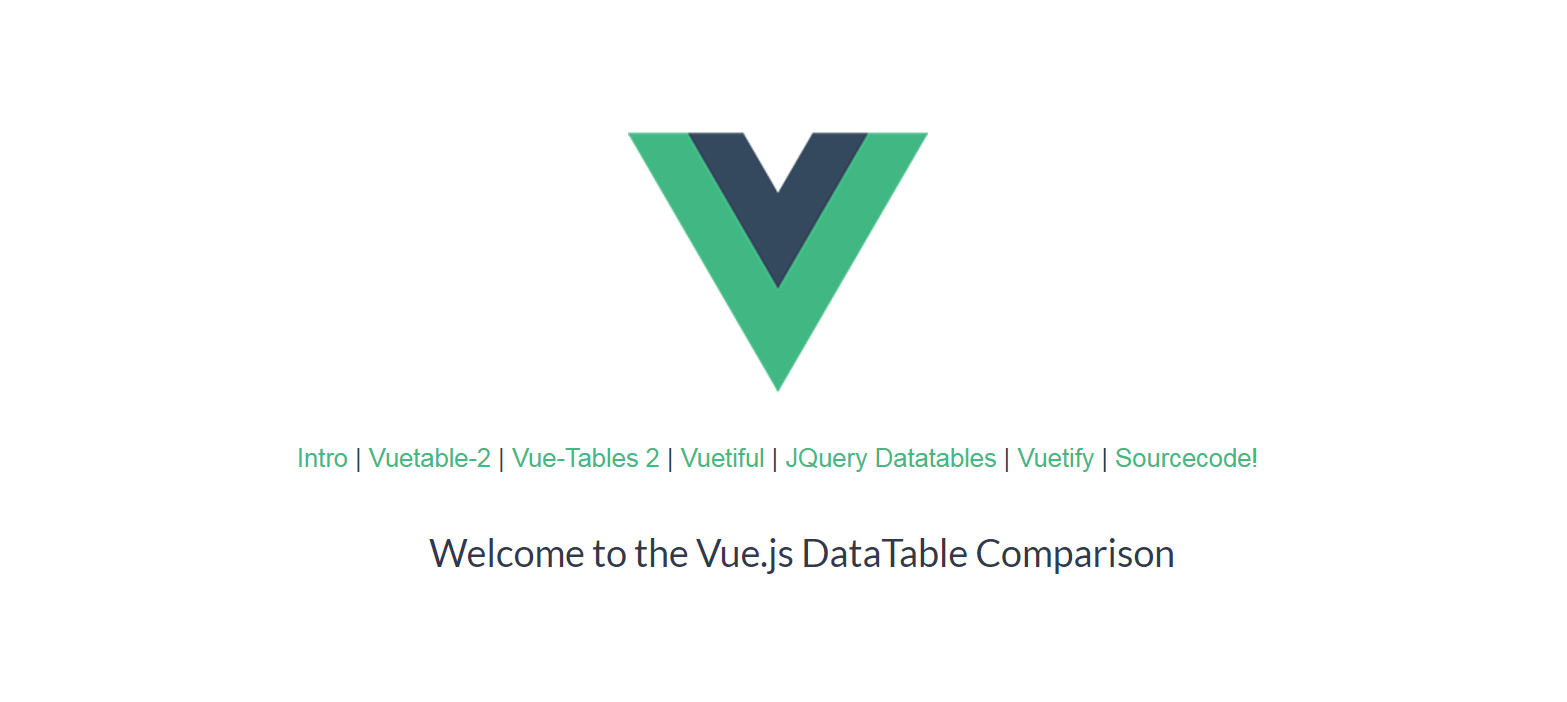 Comparison of Datatable solutions for Vue js - Vue js Feed