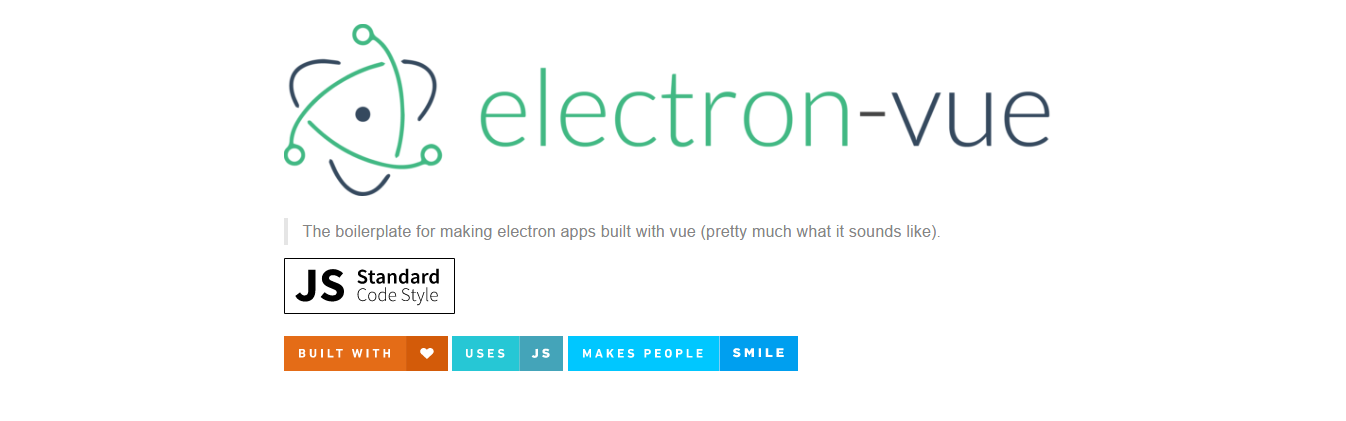 Electron-Vue a quick start boilerplate - Vue js Feed