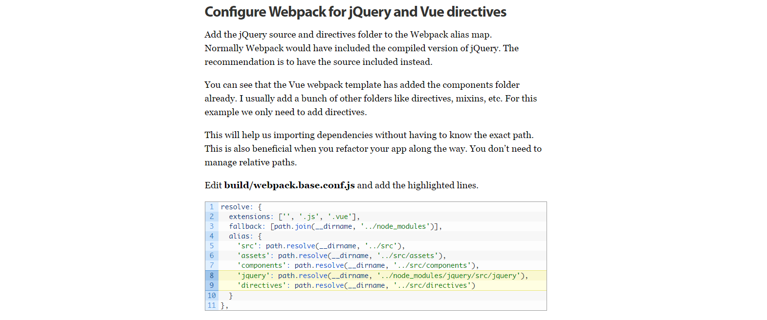 How to use Vue js with jQuery Plugins - Vue js Feed